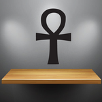 Egyptian Large Ankh Decal