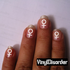 Astrology ST076 Fingernail Art Sticker - Vinyl Finger Nail Decals