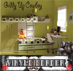 Giddy Up Cowboy Wall Decal