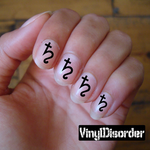 Astrology ST083 Fingernail Art Sticker - Vinyl Finger Nail Decals