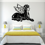 Winged Sphinx Decal