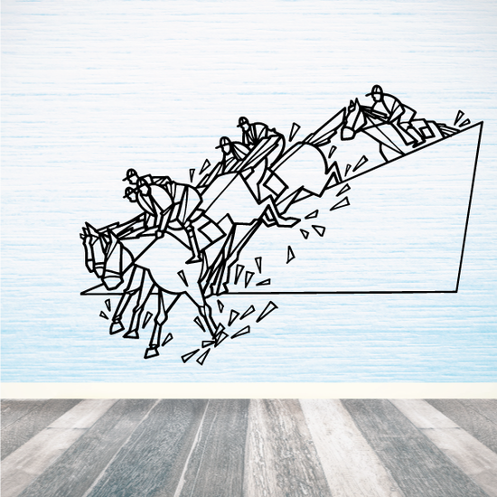 Steeplechase Wall Decal