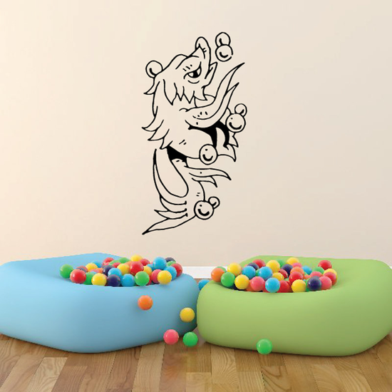 Fish Wall Decal - Vinyl Decal - Car Decal - DC150