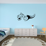 Fish Wall Decal - Vinyl Decal - Car Decal - DC151