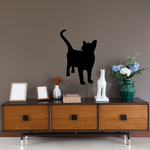 Attention Side Cat Decal