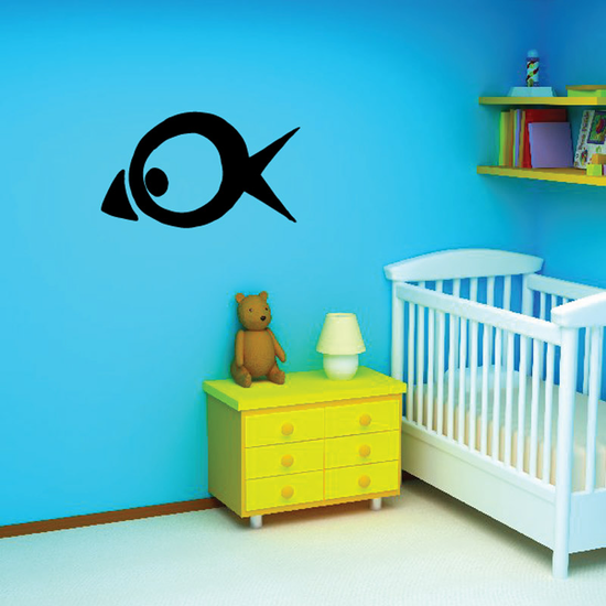 Fish Wall Decal - Vinyl Decal - Car Decal - DC153