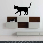 Abyssinian Cat Playing Decal