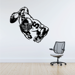 Football Wall Decal - Vinyl Decal - Car Decal - Bl007