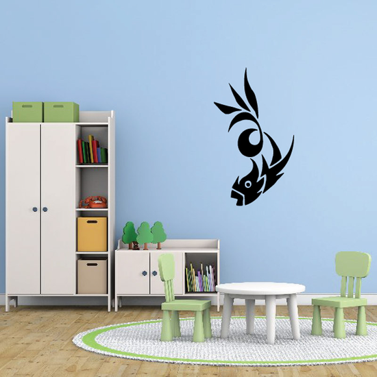 Fish Wall Decal - Vinyl Decal - Car Decal - DC156