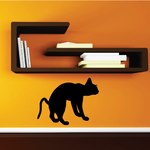 Siamese Cat Hissing Decal