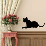 Siamese Cat Relaxing Decal