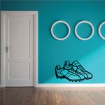Football Cleats Wall Decal - Vinyl Decal - Car Decal - CDS041