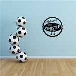 Thirsty Just Whistle Decal