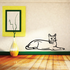 Cat Laying Down Decal