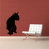 Looking Cat Decal