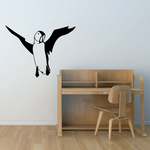 Flying Puffin Decal