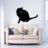 Viewing Cat Decal