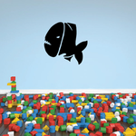 Fish Wall Decal - Vinyl Decal - Car Decal - DC161