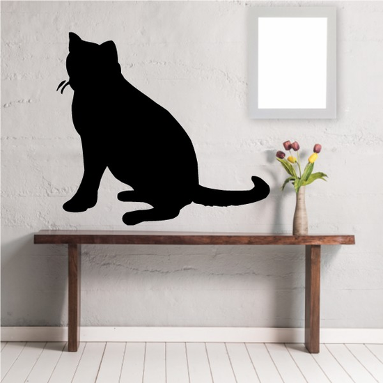 Russian Blue Cat Decal