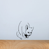 Angry Cat Decal