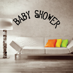 Baby Shower Quote Wall Decal