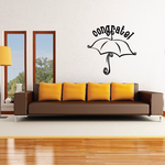 Congrats Baby Shower Wall Decal