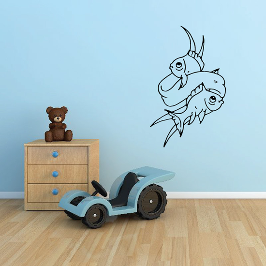 Fish Wall Decal - Vinyl Decal - Car Decal - DC167