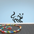 Brave Hunting Cat Decal
