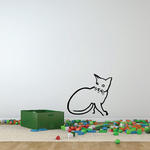 Confused Kitten Decal