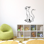 Claws Out Cat Decal