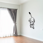 Catching Cat Decal