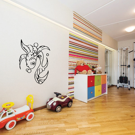 Fish Wall Decal - Vinyl Decal - Car Decal - DC168