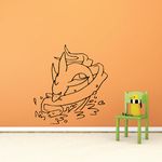 Fish Wall Decal - Vinyl Decal - Car Decal - DC169