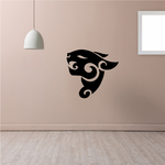 Tribal Panther head Decal