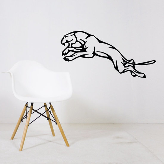 Leaping Jaguar Decal