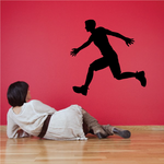 Running Runner Wall Decal - Vinyl Decal - Car Decal - 011