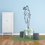 Running Wall Decal - Vinyl Decal - Car Decal - Bl006