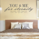 You and Me For Eternity Wall Decal