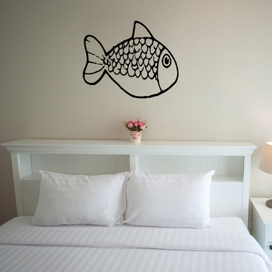 Scale Goldfish Decal