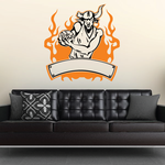 Football Wall Decal - Vinyl Sticker - Car Sticker - Die Cut Sticker - SMcolor010