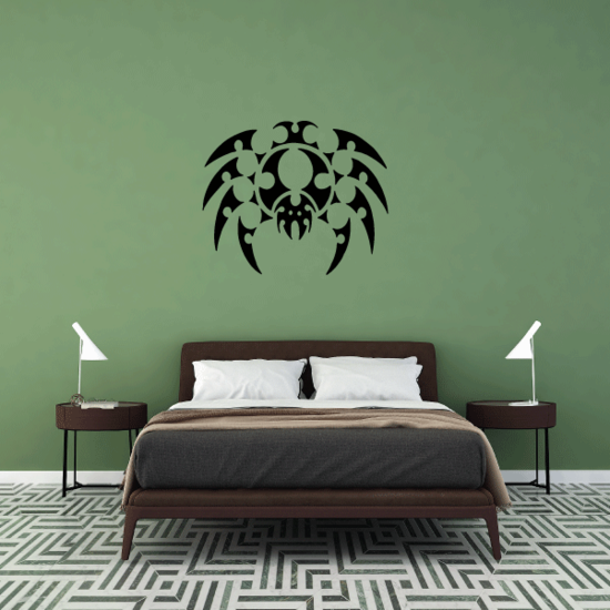 Bubble Style Spider Decal