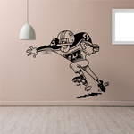 Football Wall Decal - Vinyl Decal - Car Decal - Bl025