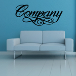 Company Wall Decal - Vinyl Decal - Car Decal - Business Sign - MC02
