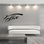 The Wall Decal - Vinyl Decal - Car Decal - Business Sign - MC04