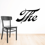 The Wall Decal - Vinyl Decal - Car Decal - Business Sign - MC06