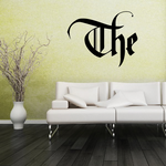 The Wall Decal - Vinyl Decal - Car Decal - Business Sign - MC10