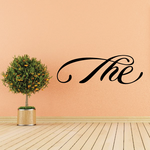 The Wall Decal - Vinyl Decal - Car Decal - Business Sign - MC12