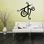 The Wall Decal - Vinyl Decal - Car Decal - Business Sign - MC16