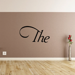 The Wall Decal - Vinyl Decal - Car Decal - Business Sign - MC17
