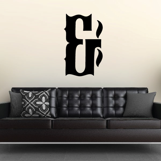 And Symbol Wall Decal - Vinyl Decal - Car Decal - Business Sign - MC26